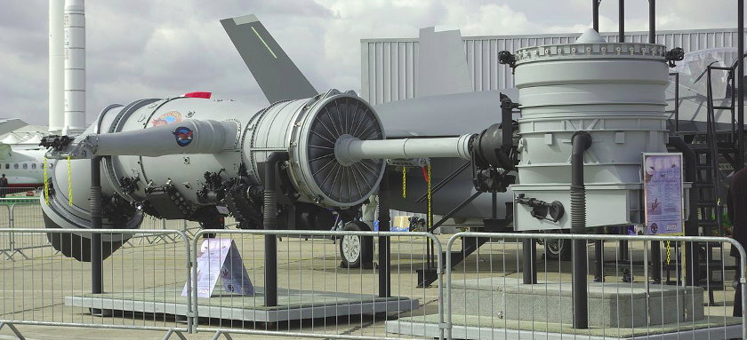 Engine of the Lockheed Martin F-35 Lightning | by Duch.seb, via Wikimedia Commons